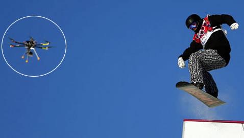 Jocurile-Olimpice-Soci-2014-O-dronă-filmează-schiorii-și-snowboarderii-o-premieră-în-istoria-olimpică