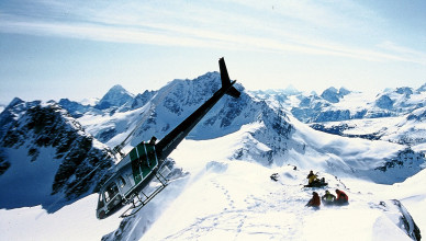 Bella Coola Heli Drop Off