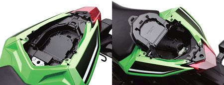 2013-Kawasaki-Ninja-300-seat-storage