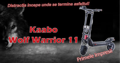 Trotineta electrica kaabo Wolf Warrior 11