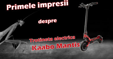 trotineta electrica Kaabo Mantis