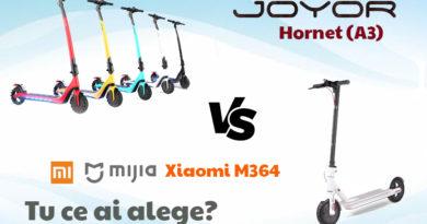 Joyor hornet vs Xiaomi m365