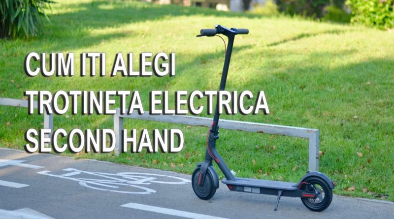 trotineta electrica second hand