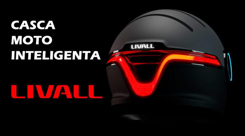 Livall pregateste un nou concept de casca smart pentru motociclete