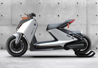 Carota Design si BMW propun un nou concept de scuter electric
