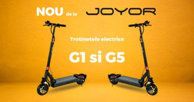Joyor G1 si G5 sunt trotinetele verii 2020