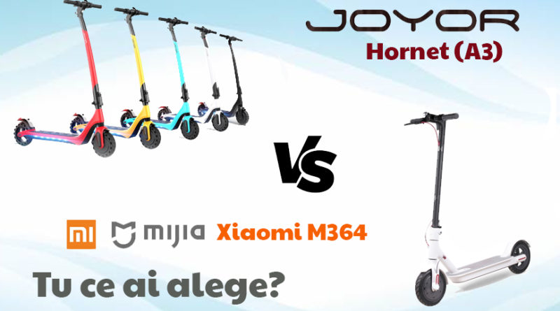 Joyor hornet vs Xiaomi m365