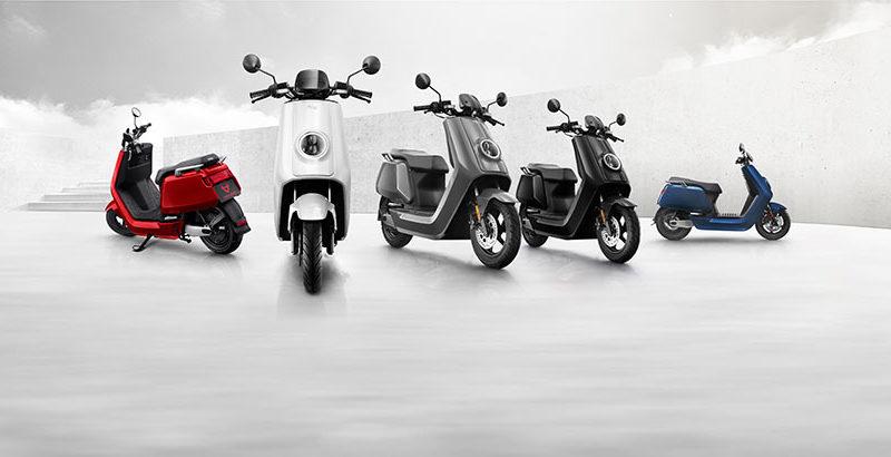 scuter electric Niu Mqi+ sport
