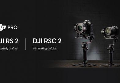 DJI RS 2 si RSC 2: magie pentru cinematografie