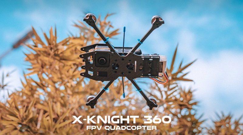 drona invizibila X-Knight 360 FPV