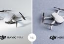 DJI Mini 2 vs. Mavic Mini – care sunt diferentele si pe care o poti alege