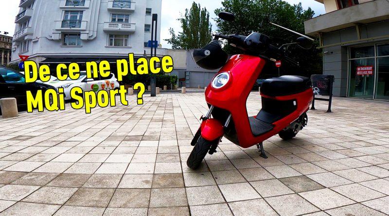 scuterul electric niu Mqi Sport