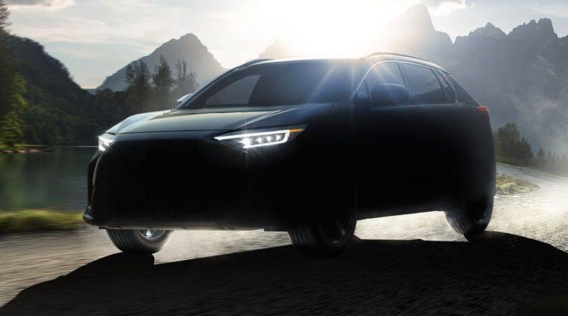Prima masina electrica de la Subaru se numeste Solterra si seamana cu BZ4X de la Toyota